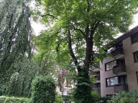 1-Zimmer-Apartment in Pöseldorf mit Schwimmbad und Sauna