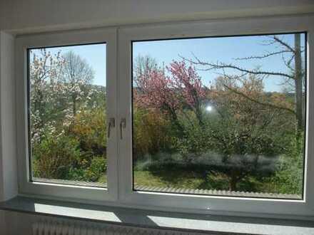 Erstbezug nach Sanierung: Ansprechende 5-Zimmer-Wohnung mit Garten, in Mühltal
