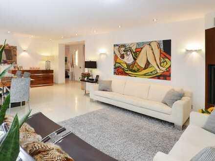 Möbliert: Designerwohnung, Bestlage, exklusiv möbliert , 3-Zimmer Kamin, Balkon im Lehel