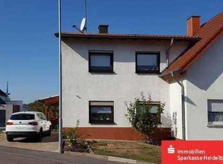 Gemütliche Doppelhaushälfte in Wiesloch-Frauenweiler
