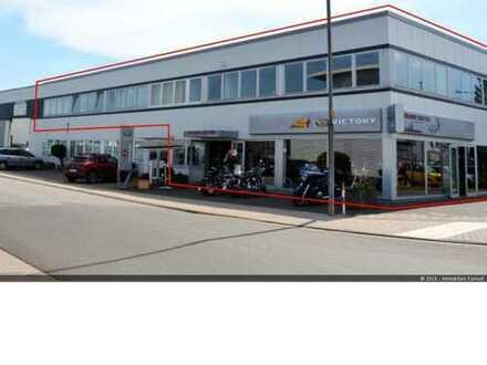 450 m² Ausstellung-/Laden-/Showroom + 150 m² Werkstatt - in Mühlheim zu vermieten