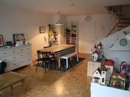 Familienfreundliche 4-Zimmer-Maisonette-Gartenwohnung in Waldperlach