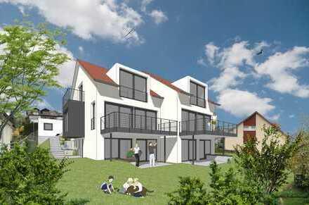 BAUSTART! Hochwertige Doppelhaushälfte mit unverbaubarer Aussicht! Gestalten Sie jetzt mit!