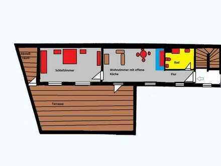 Neu Sanierte Wohnung mit große Terrasse im Zentrum