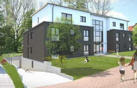 Neubau-Wohnung mit West-Terrasse und eigenem Garten