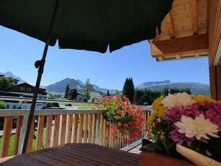 Nimm 2 - heute 2 Wohnungen, morgen eine Große, mit der Bergwelt direkt vor der Haustüre!
