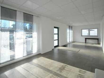 Große Büroeinheit mit Lagerfläche