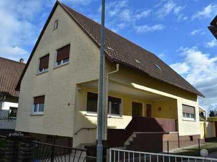 1-2 Familienhaus in guter Lage - 156m² Wfl. - 509m² Grund - Garage