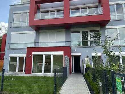 Wunderschöne 2 Zimmer KB Wohnung mit Garten und Terrasse in der Parkstadt