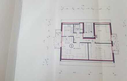 Schöne drei Zimmer Wohnung in Leinfelden-Echterdingen (Musberg)