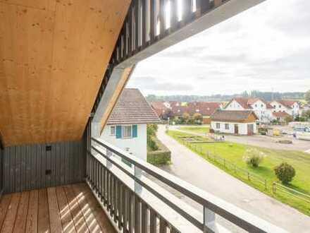 Neubau-Dachgeschoßwohnung mit unfassbaren Raumhöhen und viel Licht!