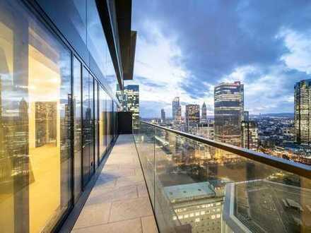 Exklusives Wohnfeeling mit Skylineblick: 2-Zimmer-Wohnung mit Terrasse im OMNITURM