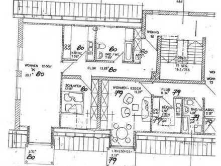 Attraktive 2-Zimmer-DG-Wohnung mit Balkon und Einbauküche in Penzberg