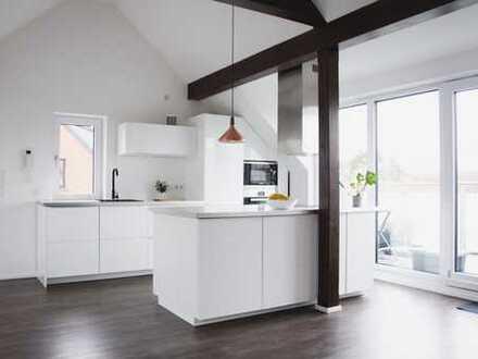 Moderne 3-Zimmer-Maisonette-Wohnung mit Balkon und EBK in Volkhoven/Weiler, Köln