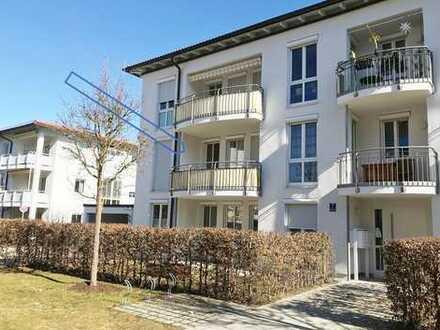 Sonnendurchflutete, moderne 3-Zimmer-Wohnung mit Balkon am Fürstenrieder Wald, Großhadern