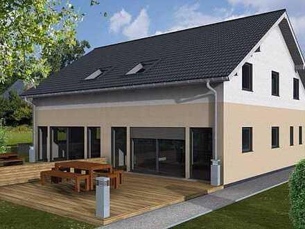 Komfortables 2-Familienhaus (Doppelhaus) – auf großem Grundstück, freistehend ohne Makler!