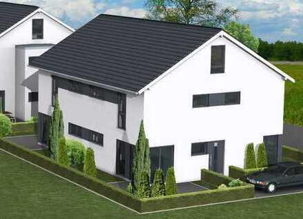 Neubau Doppelhaushälfte in Gellershagen