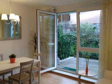 Schöne zwei Zimmer Gartengeschosswohnung in Heidelberg, Kirchheim