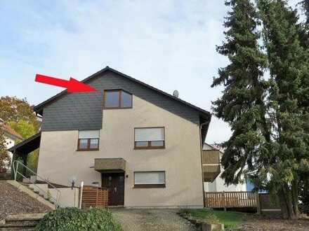 Gepflegte Wohnung mit 2,5 Zimmern sowie Balkon und Einbauküche in Neckarbischofsheim
