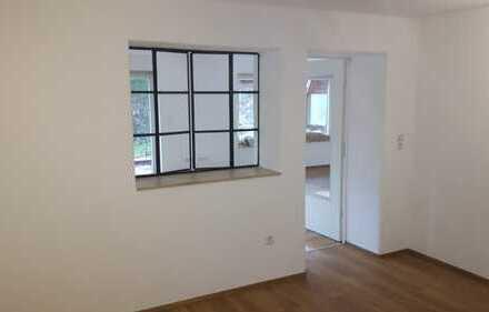 Erstbezug nach Sanierung: großzügge 3-Zimmer-Wohnung mit großer Terasse und Garten in Kaufbeuren