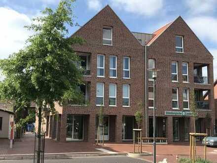 Hochwertige 2-Zimmerwohnung mit Balkon im 1. OG eines Wohn- und Geschäftshauses im Herzen von Visbek