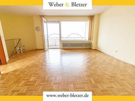 Sonnige 4-Zimmer-Maisonette-WHG mit Balkon, EBK und Treppenlift in HD-Emmertsgrund