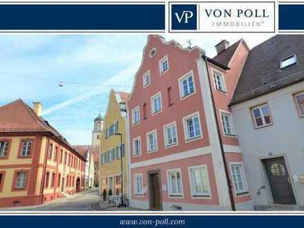 Schöne 3-Zimmer-Wohnung im Herzen Oettingens mit Balkon und neuer Einbauküche