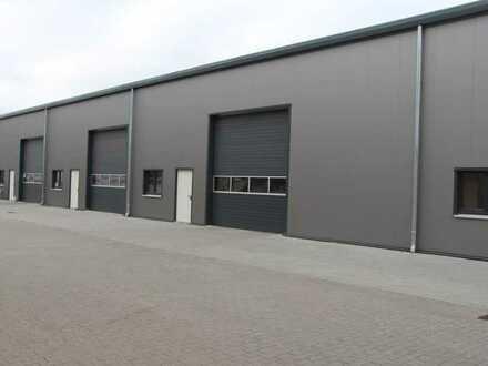 Provisionsfrei! Neubau Lager- /Produktionshallen zu vermieten!