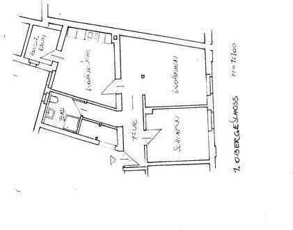 Ansprechende, sanierte 2-Zimmer-Wohnung mit gehobener Innenausstattung für 1-2 Personen