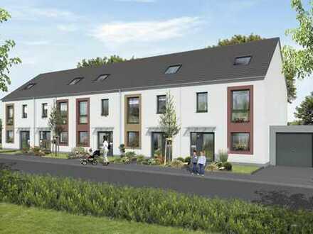 Reihenmittelhaus mit Garten, Garage und Pkw-Stellplatz in ruhiger Lage in Bergheim-Glessen
