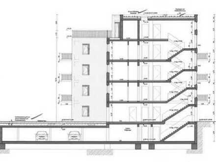 Grundstück mit Baugenehmigung für MFH nahe dem Tegeler See, Provisionsfrei