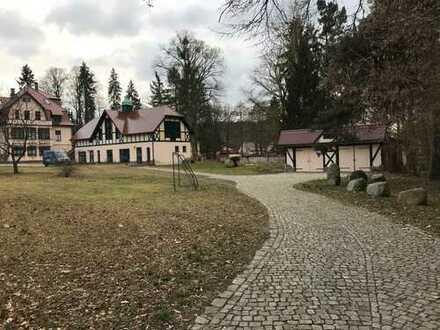 4-Zimmer-Dachgeschosswohnung mit Balkon, Garage und Garten in Althüttendorf