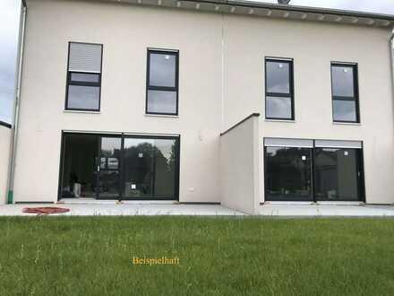 Erstbezug: Moderne, exklusive, lichtdurchflutete Doppelhaushälfte in zentraler Lage in Hagenbach