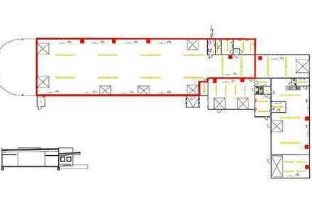 Hallenbereich 765 m² in zentraler Lage in Gelsenkirchen