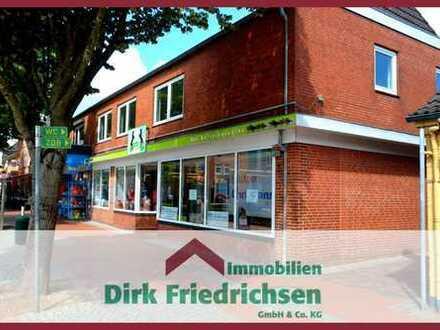GESCHÄFTSRÄUME BIS ZU 350 m² IM EG, 100 m² IM OG & 5-ZIMMER-WOHNUNG IN 1 A ZENTRUMSLAGE