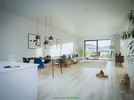 Stilvolle 3-Zimmer-Wohnung mit offenem Kochbereich und Balkon in naturnaher Lage