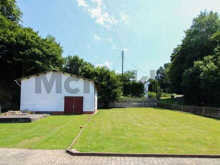 Idyllisch und grün nahe Augsburg: Voll erschlossenes Baugrundstück