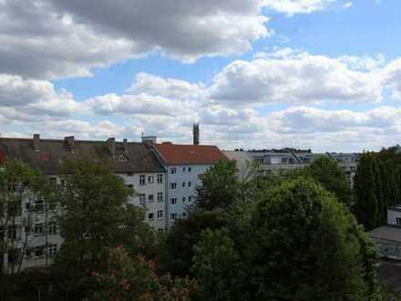 Einzigartige Dachgeschosswohnung über der Skyline von Lichtenberg