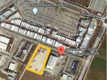 Logistikfläche im Gewerbegebiet Ingolstadt zu vermieten