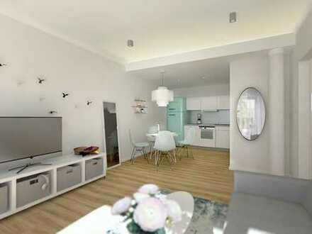 Tolle 2-Zimmer-Erdgeschosswohnung mit traumhafter Terrasse im Herzen von Landau!