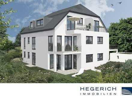 HEGERICH: Exklusive 2-Zimmer-Dachgeschosswohnung mit Süd-Dachterrasse