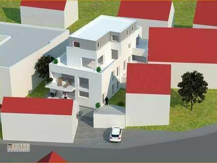 Attraktiv: EG Whg 2 mit erhöhter großer West-Terrasse + Gartenanteil + überdachter Nordbalkon