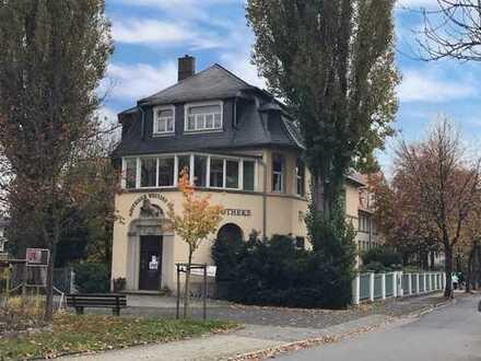 * schöne Dachgeschoss-Wohnung in zentraler Lage mit Gartennutzung *