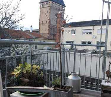 Speyer Zentrum, Tolle neuwertige 2ZKB mit Balkon und Blick aufs Altpörtel