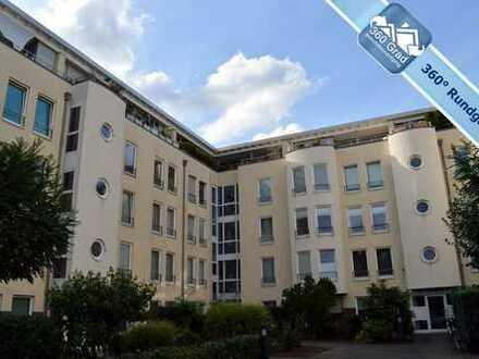 Wunderschöne 3-Zimmer-Garten-Wohnung mit Einbauküche und TG-Platz in Bilk