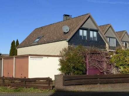 Wohnen in Wolfsburg-Ehmen! Schönes Reihenendhaus mit Garage