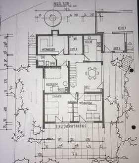 Helle 3-Zimmer-Wohnung mit sonniger Terasse und EBK in Freudental