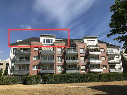 4-Zi. Penthouse mit EBK, Balkon, zwei Bädern