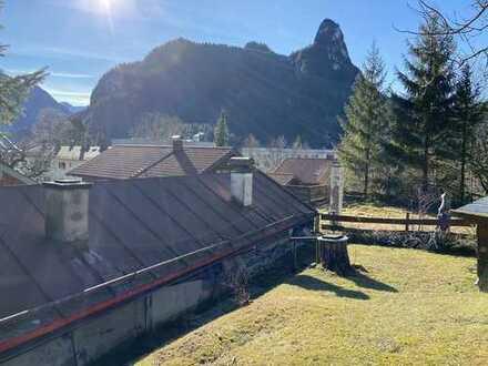 Ein Angebot, vielen Möglichkeiten!! Gemütliches Häuschen oder Neuanfang, mit Bergblick in Oberammerg