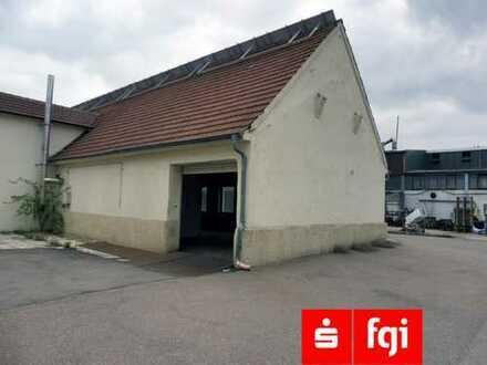 Lagerhalle / Werkstatt mit Sozialräumen